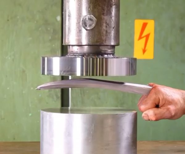 Hydraulic Press Channel Meets Its Match