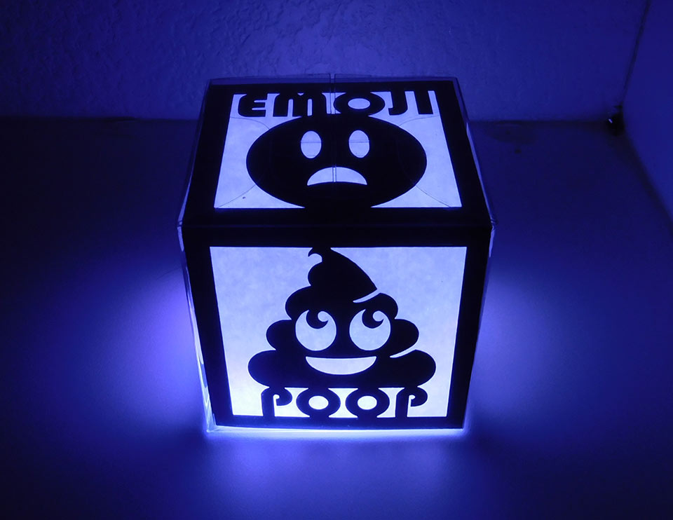 My Daughters Box Room Right Side: Review: Glow Cave Glow Cubes Brighten Any Room