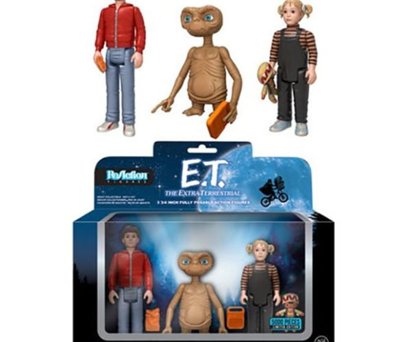 ReAction E.T. Action Figure Set Will Steal Your Speak & Spell