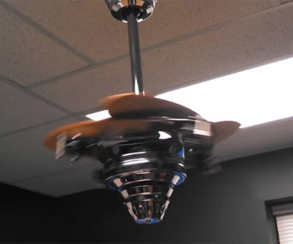 Transforming Ceiling Fan: More than Meets the Eye