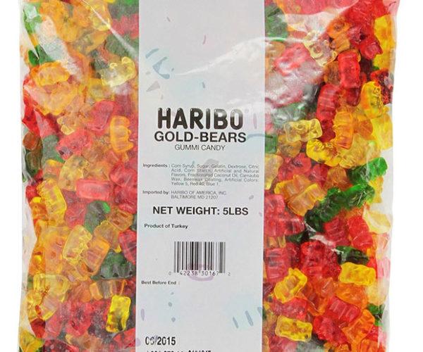 OMG! Amazon Has 5-pound Bags of Gummy Bears for 10 Bucks