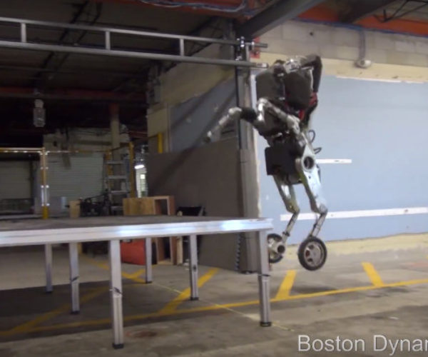 Boston Dynamics Releases Official Footage of Handle Robot