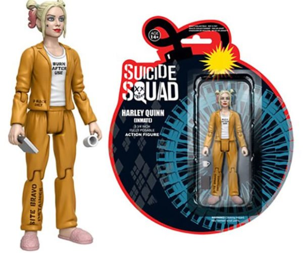 Inmate Harley Quinn Action Figure Wants to Play
