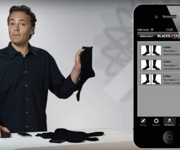 iPhone Enabled Smart Socks Are a Thing