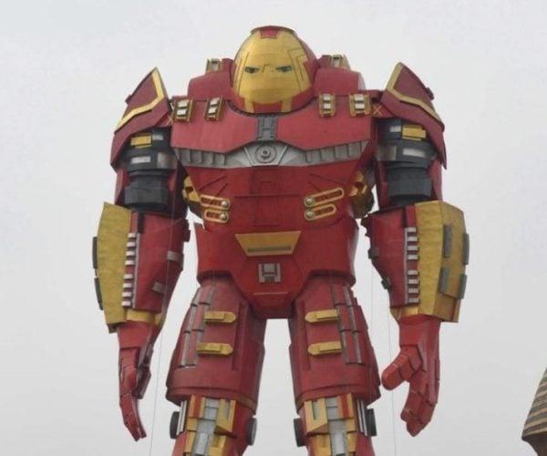 China's Weird Iron Man Statue: Iron Mac?