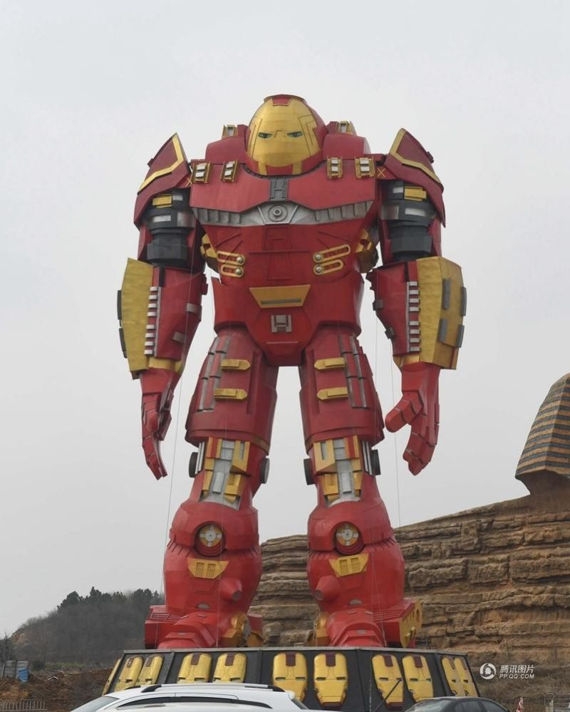 China S Weird Iron Man Statue Iron Mac