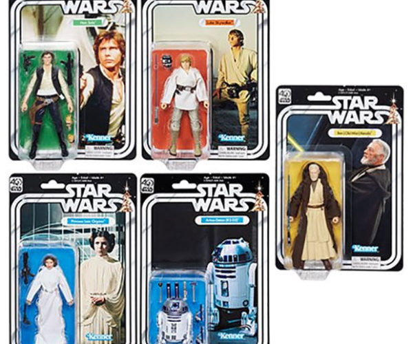 Star Wars Black Series 40th Anniversary Action Figures Coming in May