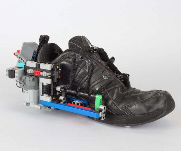Great Scott! Build Your Own Self-Lacing Nikes with LEGO