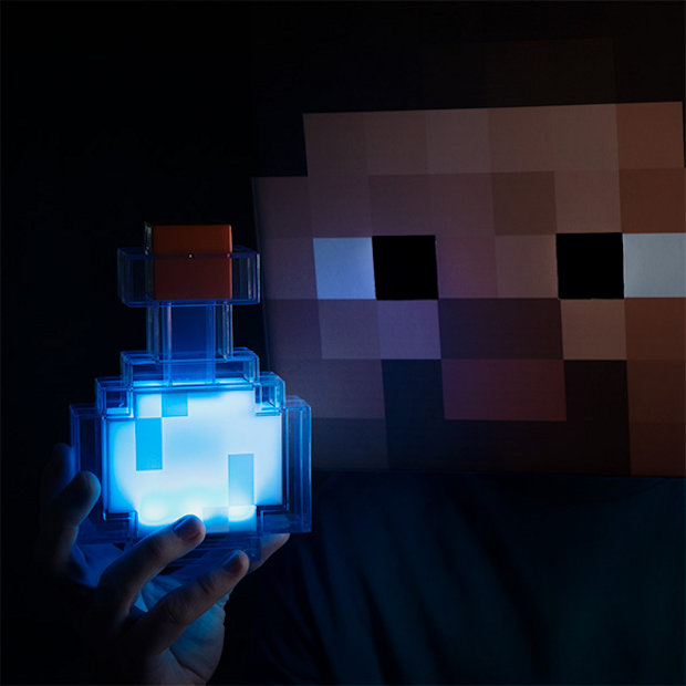 Minecraft Build Bue And White