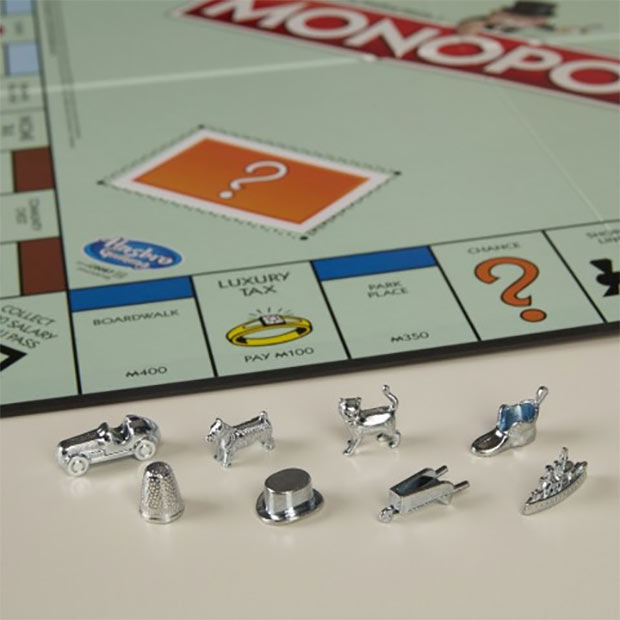 Monopoly scraps the thimble after 82 years