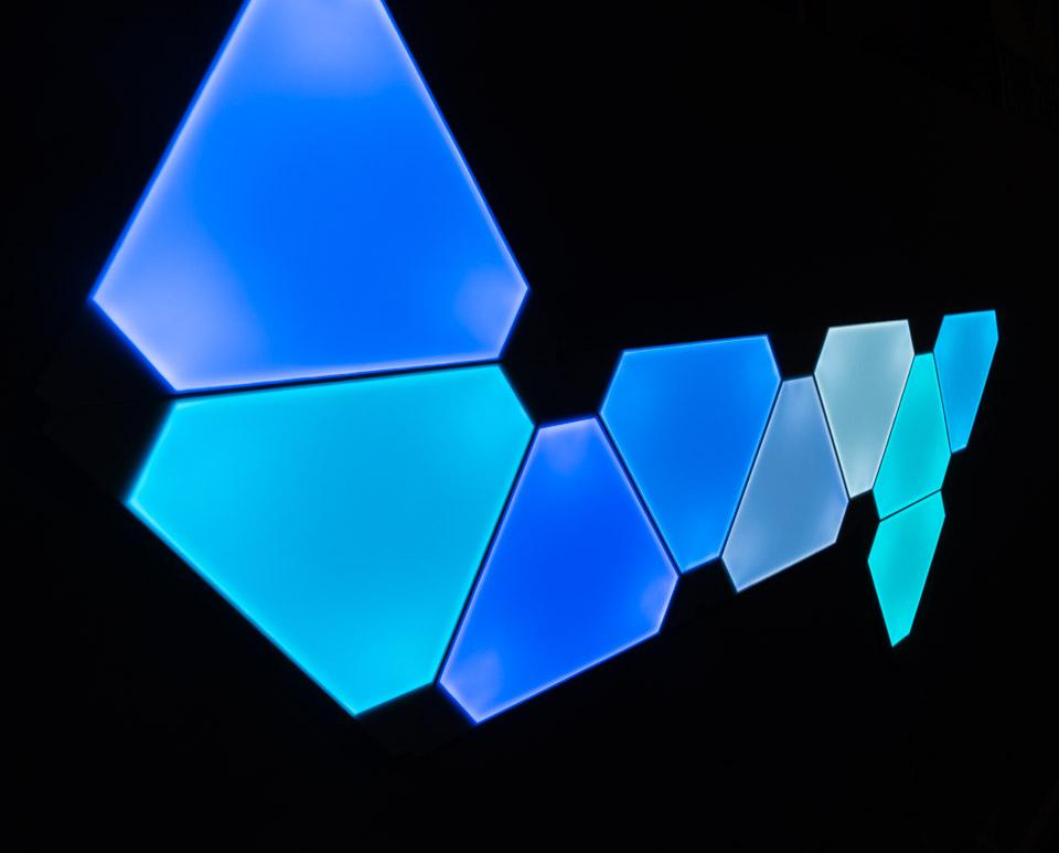 Review Nanoleaf Aurora Light Panels