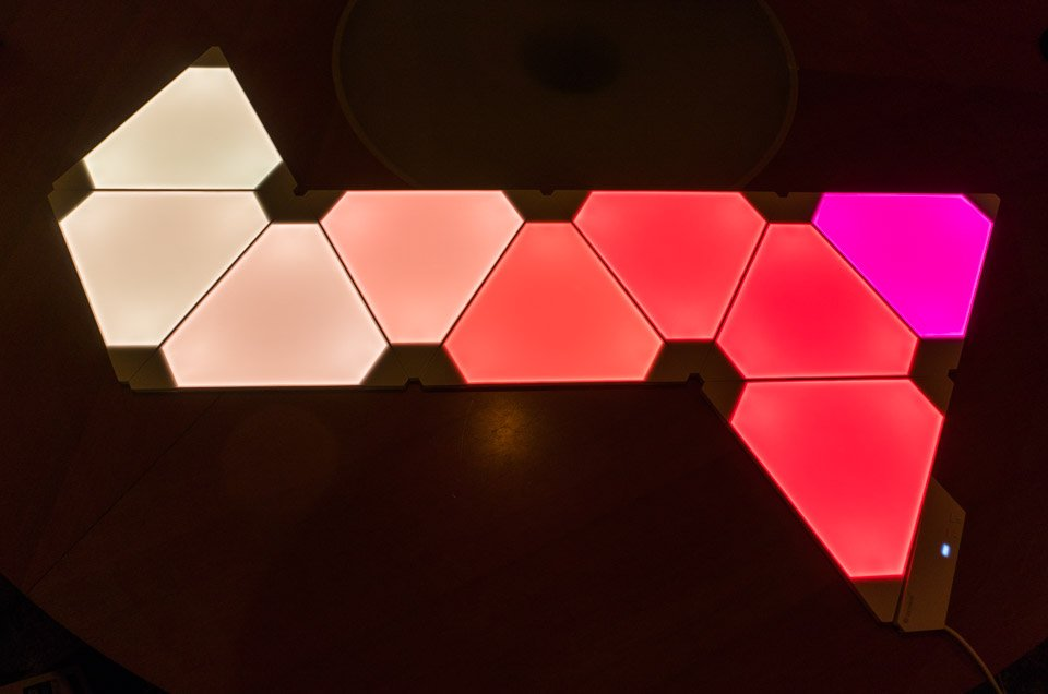 Review Nanoleaf Aurora Light Panels Technabob