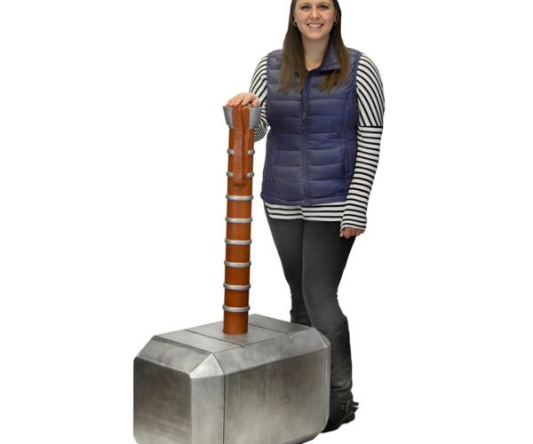 Giant Thor's Hammer Replica Is only for the Pure of Heart (and the Massive)