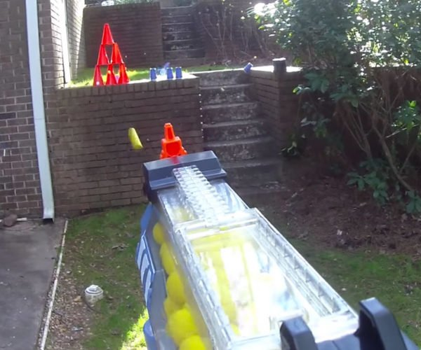 Mod Turns the NERF Rival Nemesis into a Bullet Hose
