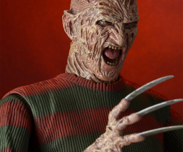 This 18″ Tall Freddy Krueger Action Figure Will Cut You