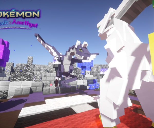 Someone Built an Entire Functional Pokémon Game Inside Minecraft