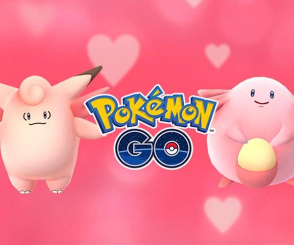 Pokémon Go Goes Pink This Valentine's Season