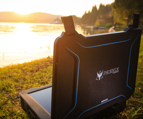 Renogy Unveils Phoenix All-in-One Solar Powered Generator Briefcase