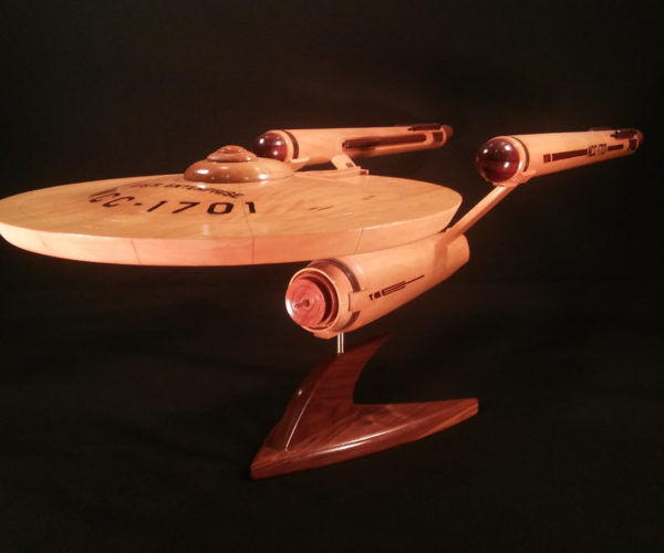 This Wooden Starship Enterprise Goes Where No Tree Has Gone Before