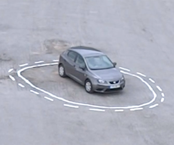 How to Trap an Autonomous Car