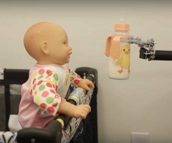 This Robot Delivers Bottles to Babies with Horrible Consequences