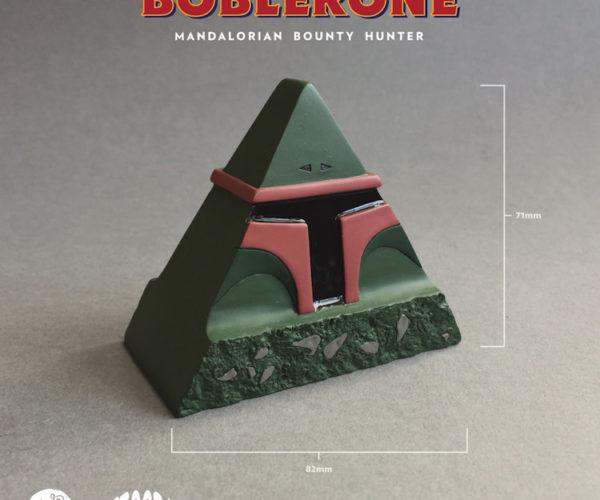 Toblerone + Boba Fett = Boblerone