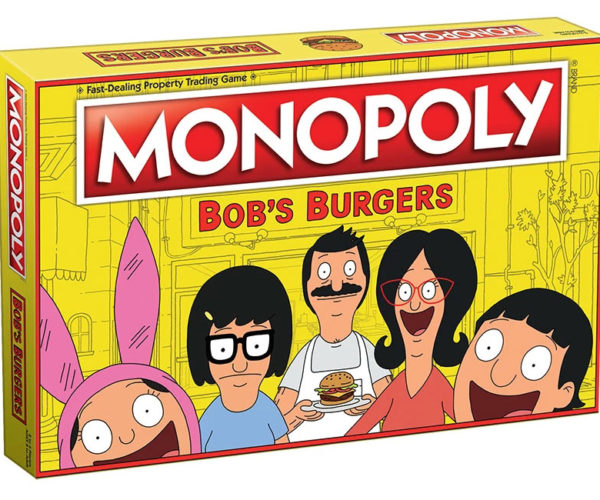 Bob's Burgers Monopoly Has Burgers, Belchers, and Butts