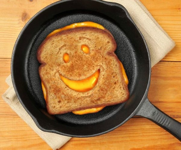 Cheesy Grin Bread Cutter Makes Happy Little Sandwiches