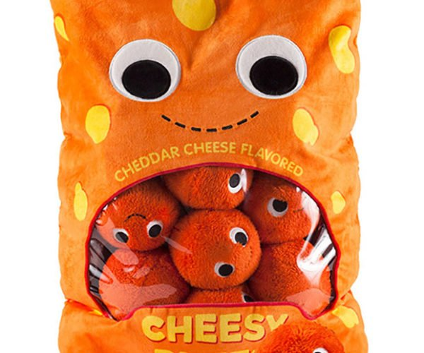 Cheesy Puff Plushes Won't Stain Your Fingers