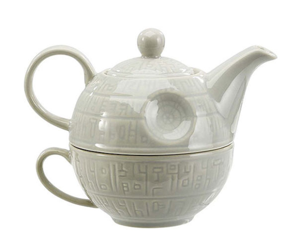 Death Star Tea-for-one Teapot and Mug: That's No Matcha!