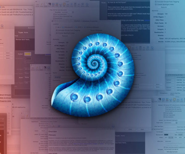 Deal: Save 50% on DEVONthink Pro: The Elite Document Manager for Mac