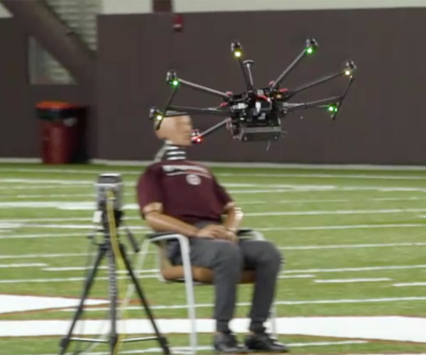 Safety Testing Drones with a Crash Test Dummy