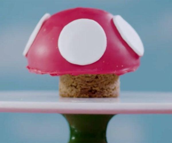 Mario Mushroom Blondies Power up Your Sweet Tooth