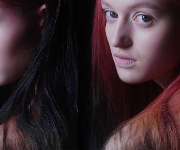 This Hair Dye Changes Color with the Environment