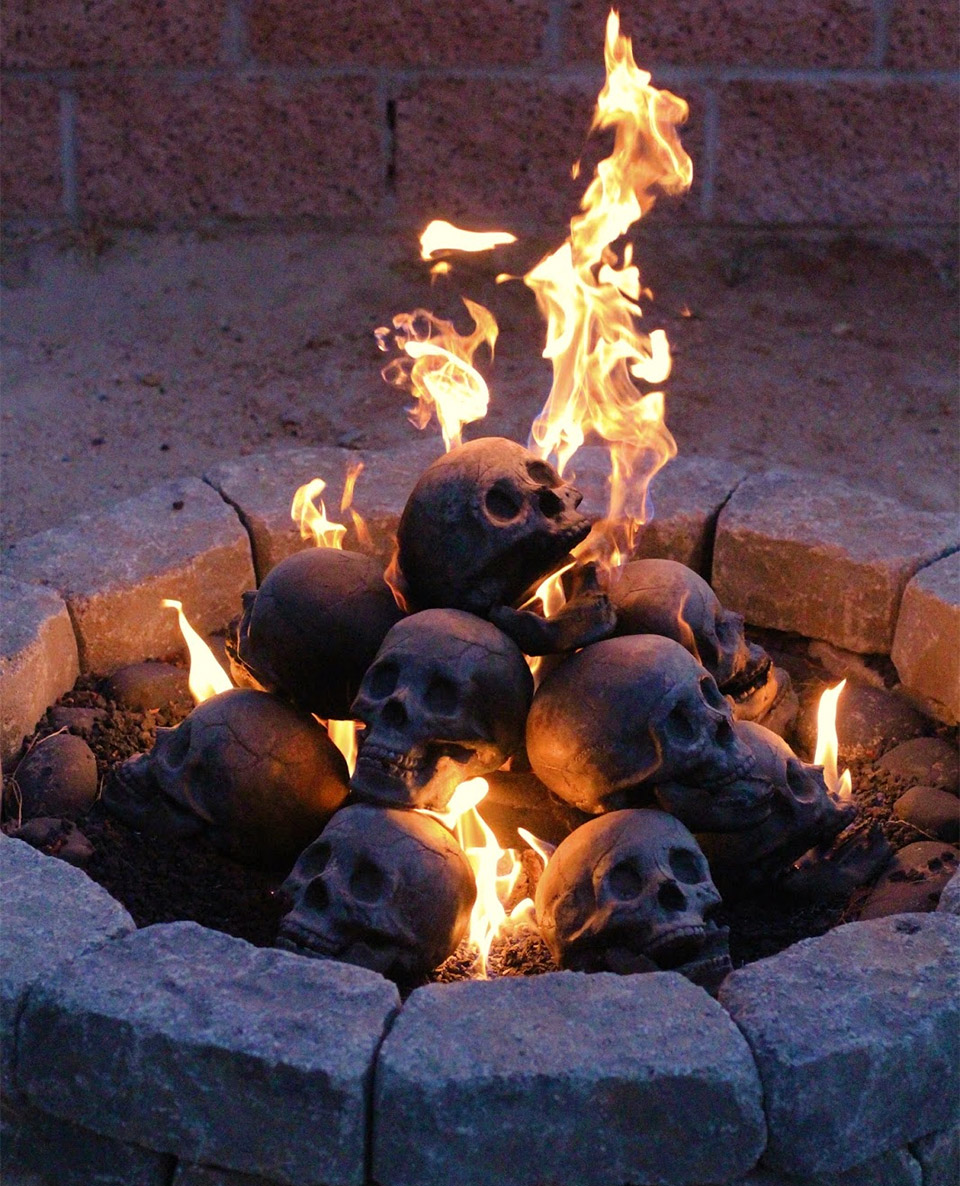 but re gas skull with logs the blog fireplaces propane also for pit technabob s designed fireplace fire work anyone to and they mores natural off use top liquid