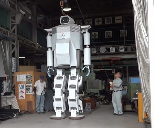 These Guys Built a 13-Foot-Tall Walking Robot in Their Garage