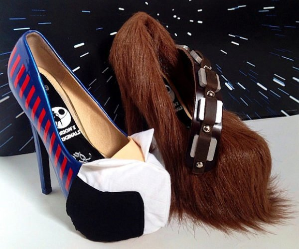 Han Solo and Chewbacca High Heels: Shoe Wars