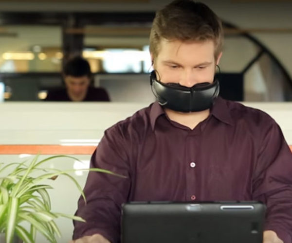 Hushme Mask Silences Your Voice for Phone Privacy, Makes You Look like Bane