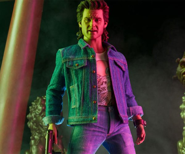 Jack Burton Action Figure Only Drives as Fast as it Can See