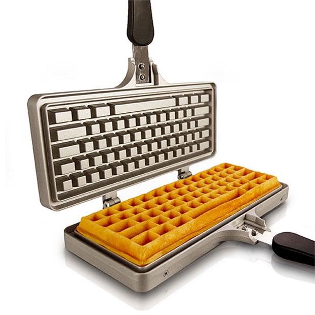 b3980305ebd462 It makes waffles shaped like a 104-key keyboard. This isn t a fancy  electric waffle iron mind you