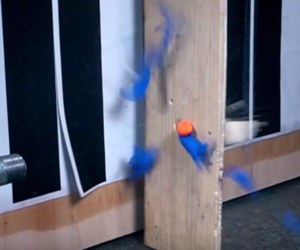 This Is One NERF Dart You Wouldn't Want to Be Hit by