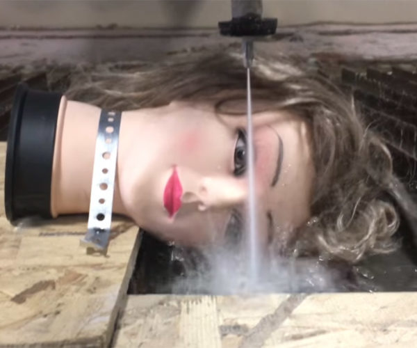 Mannequin Head Sliced in Half Is the Stuff of Nightmares