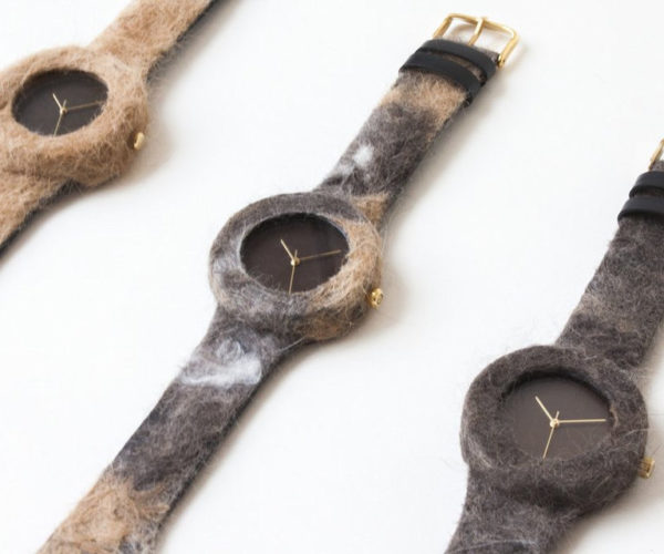 These Watches Are Made with Cat and Dog Hair