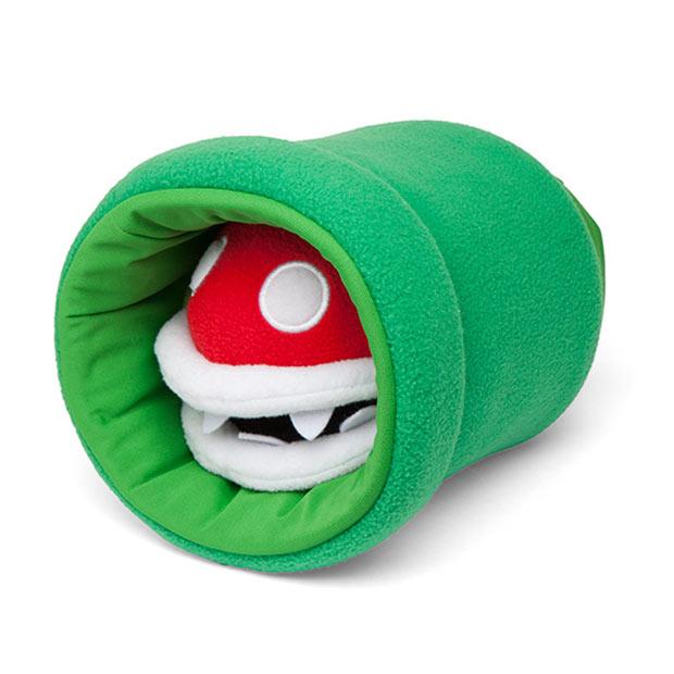 Super Mario Piranha Plant Puppet Feed Me Mario Feed Me