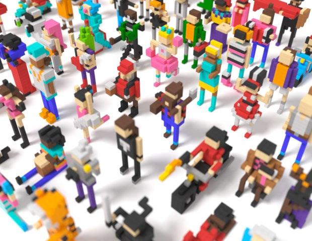 Pixio Magnetic Construction Blocks Let You Build Colorful