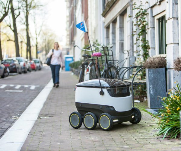 Domino's Now Delivering Pizza by Robot in Europe
