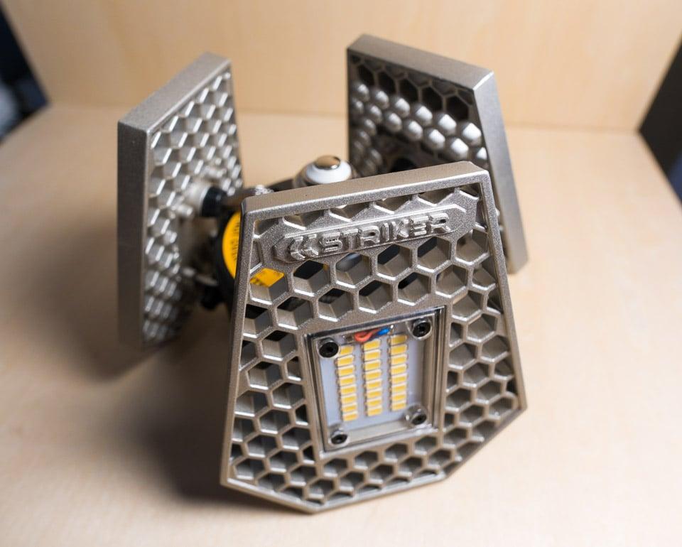 Review Striker Trilight Motion Sensing Led Ceiling Light