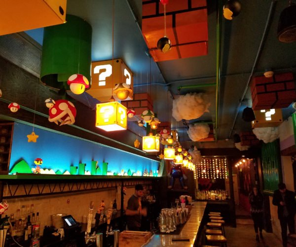 Super Mario Themed Pop-up Bar: Your Sobriety Is in Another Castle