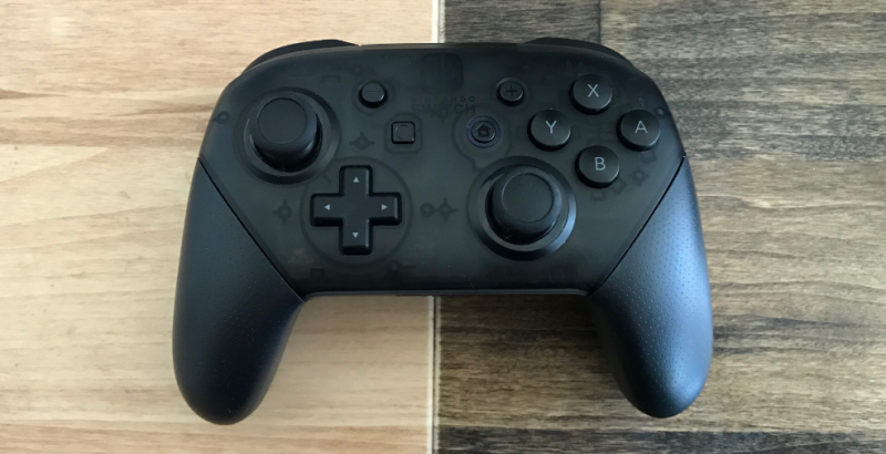 The Nintendo Switch Pro Controller Has An Easter Egg