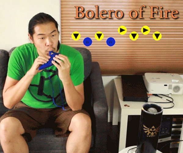 Zelda Fan Controls His House With an Ocarina